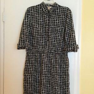 Loft Shirt Dress - L